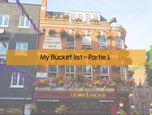 MyBucketListPartie1